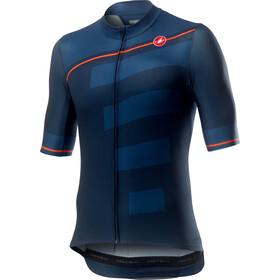 Castelli Trofeo Koszulka z krótkim rękawem Mężczyźni, dark infinity blue